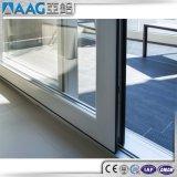 Aluminiumschiebetür der Legierungs-6463 T5 für Badezimmer