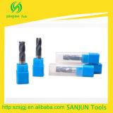 Moinhos de extremidade de canto de trituração do raio do CNC/das ferramentas do cortador do canto do carboneto de tungstênio