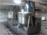 Nuoen de lecho fluidizado con máquina mezcladora vertical