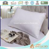 El ganso blanco clásico del pato de la cubierta cómoda natural del algodón abajo empluma la almohadilla
