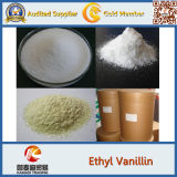Polvere organica naturale della vaniglia e della vaniglina