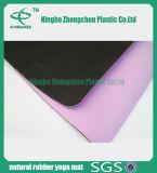 Non couvre-tapis de yoga de cuir de couvre-tapis de yoga de caoutchouc mousse de nature de glissade