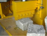 De hydraulische Scherpe Machine van de Steen om Cobble/Straatsteen Te verdelen