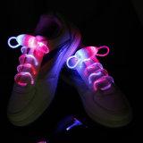 Оптово осветите вверх шнурки шнурков пластичные СИД