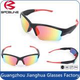 최신 UV 보호 Eyewear 형식 관례에 의하여 상표가 붙는 Mens 순환 상승 운영하는 색안경
