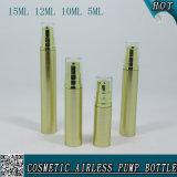Goldener kosmetischer Pumpen-Sprüher-luftloses Serum-Flaschen-Verpacken