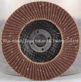 Alumine professionnelle de disque d'aileron pour le métal et l'acier inoxydable (couverture en plastique)