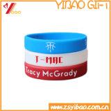 Form-Art-Klaps-Silikon-Armband mit Drucken-Firmenzeichen (YB-LY-WR-44)