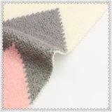 ткань полиэфира 25%Wool 75% романтичная розовая шерстяная для шинели