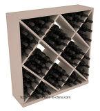 24-82 estante de visualización de madera del vino rojo del almacenaje de la boda de Home& de las botellas