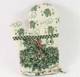 Хлопок Farbric перчаток изоляции жары микроволновой печи домочадца
