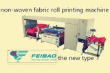 Rodillo para rodar una impresora no tejida de la pantalla de la tela del color