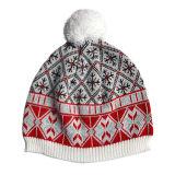 Cappello lavorato a maglia di borsatura con il fiocchetto (JRK022)
