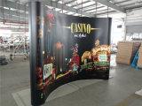 China knallen oben Ausstellung-Standplatz, PVC/Fabric knallen oben Fahnen-Ausstellungsstand