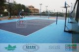 Nettoyage facile aucun étage en plastique adhésif pour des étages de volleyball de cour de volleyball