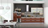 Gabinetes de cozinha modulares em revestimentos da laca