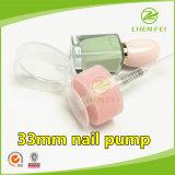 Yuyao fábrica 33 410 Cierre de la bomba de uñas de plástico para botellas