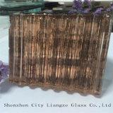 5mm+Silk+5mm que o Prata-Espelho personalizou o vidro do vidro da arte/sanduíche/moderou o vidro de vidro laminado/segurança/Glas laminado matizado para decorado
