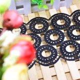 Neue Breiten-Stickerei-Nylonspitze-Polyester-Stickerei-Zutat-Fantasie-Spitze des Entwurfs-Großverkauf-12cm für Kleid-Zusatzgerät u. Hauptgewebe u. Vorhang