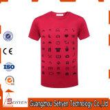 方法Tシャツ100%の純粋な綿織物
