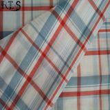 Baumwollstreifen-Popelin gesponnenes Garn gefärbtes Gewebe für Hemden/Kleid Rls40-47po
