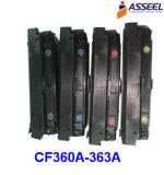 Cartucho de tóner CF360A 361A 362A 363A para HP Color M552dn / M553n / M553dn / M553X