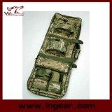 """48 """" 1.2mの二重戦術的なライフルの狙撃兵はケース銃袋のバックパックを運ぶ"""