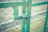 Cerca de segurança revestida da ligação Chain do PVC de Sailin