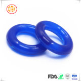Selo Semitransparent azul do anel-O do silicone