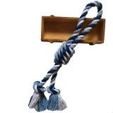 Juguete anudado de la cuerda para Chewers agresivo y el juego