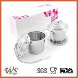 Вспомогательное оборудование стрейнера чая фильтра чая нержавеющей стали Infuser чая фабрики Wsclft012 для чашки кружки