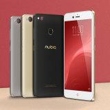 """Nubia o telefone esperto 23.0MP de Z11 Minis 5.2 """" Dual telemóvel do núcleo de Octa da impressão digital de SIM"""