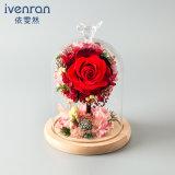 Fiore naturale della Rosa di promozione per la decorazione di cerimonia nuziale
