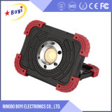800lm luz recargable del trabajo del lumen 10W LED con insignia