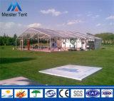 200 de mensen ontruimen de Markttent van de Tent van de Partij van het Huwelijk voor Verkoop