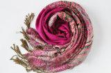 Echarpe en lin et coton en coton à manches longues pour cadeau promotionnel