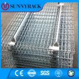 記憶の棚のための溶接された鋼線の網のデッキ