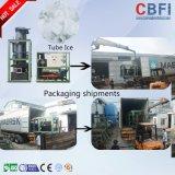Machine comestible de tube de glace de Cbfi pour le restaurant, hôtel, barres