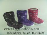 De Laarzen van kinderen in de Laarzen van de Sneeuw (D26-5MY09)
