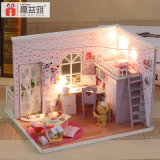 Atacado Wooden Mini DIY Doll House