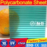 Résistance au feu Polycarbonate Feuille creuse Feuillet solide feuille de papier carton ondulé