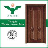 Innenfurnier-blatthölzerne Tür mit hochwertigem