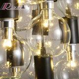 Moderner Birnen-Armkreuz-Form-Leuchter-hängende Lampe für Esszimmer