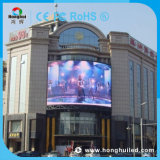 Étalage d'écran extérieur de HD P6 DEL avec le mur visuel