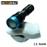 CREE ligero video Xm-L2 LED del salto de Hoozhu V11 con 100meters impermeable
