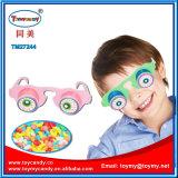 Plastikregenbogensun-Glas-Spielzeug mit Süßigkeit