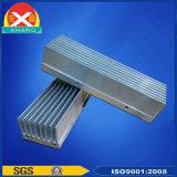 Disipador de calor de la aleación de aluminio para el sector de viento con aspecto hermoso