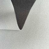 Cuero sintetizado de la PU de Yangbuck para los cargadores del programa inicial de los zapatos que hacen Hw-975