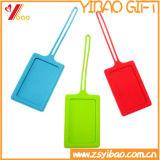Étiquettes de bagage personnalisées par étiquette molle neuve de bagage de PVC de modèle