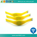 Waterproof Ntag213 RFID Custom Silicone Wristband